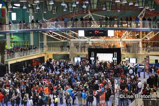La foule imposante pour GSP aux Galeries de la Capitale