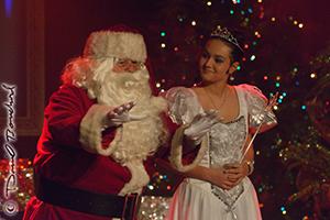 Le père-Noël et la fée des glaces