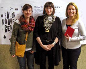 ulie St-Onge-Drouin (Ketto), Emily Lewis et Catherine Fafard (Ketto).