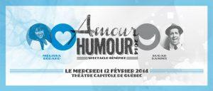 Spectacle-bénéfice: Amour et Humour 2014