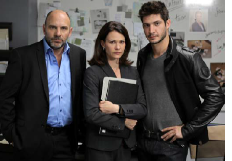Sylvain Marcel, Fanny Malette, Eric Bruneau