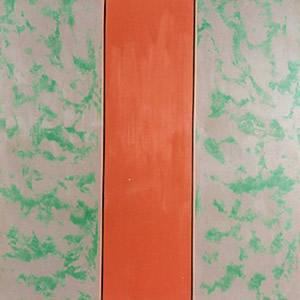 McEwem, sans titre, acrylique sur toile, 1966