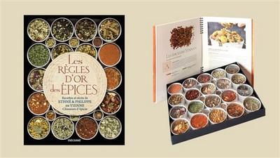Le livre-coffret Les Règles d'or des épices