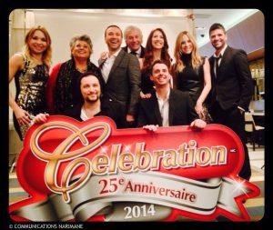 Célébration 2014 fête son 25e anniversaire