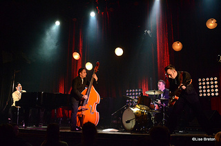 Le quatuor de musiciens