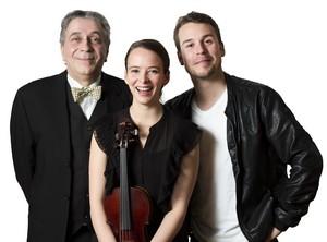 Jack Robitaille, Marianne Marceau et Lucien Ration