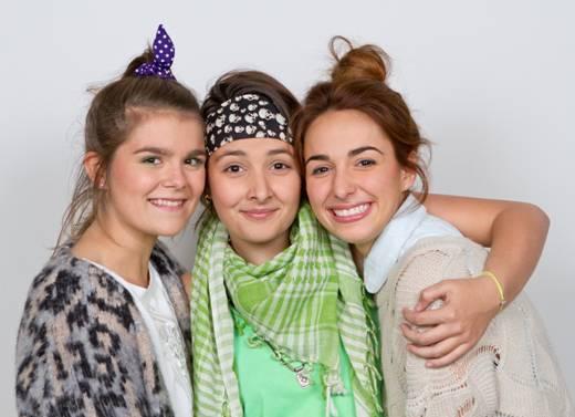 Sarah Mottet, Camille Piché-Jetté, Élisabeth Smith