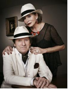 Albert Millaire et Louise Marleau