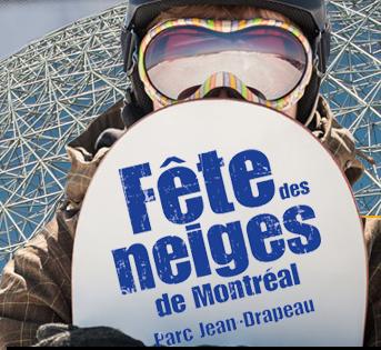 Fêtes des neige de Montréal