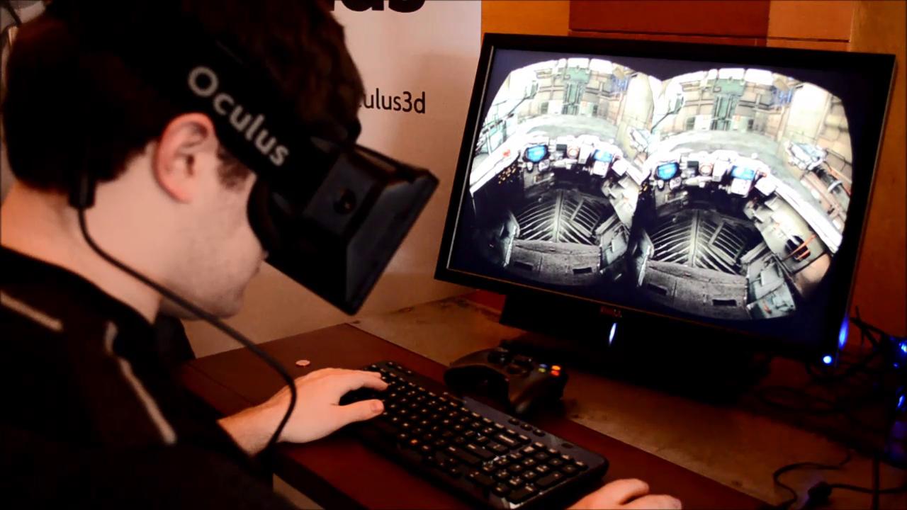 lunettes immersives Oculus Rif