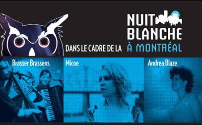 La Nuit Blanche à Montréal