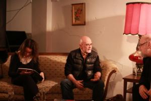 Marie-Andrée Gill, Jean Désy et Serge Bouchard à l'événement Tenir Salon