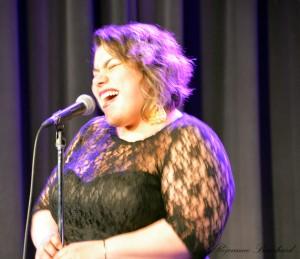 La chanteuse Patricia Cano