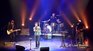 Jérôme Couture et ses 3 musiciens, Jean-Luc Huet, Maxime Bellavance et Pierre-Olivier Rioux