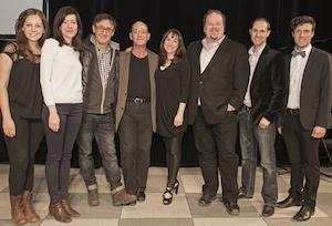L'équipe de création et quelques interprètes de Belles Soeurs: The Musical