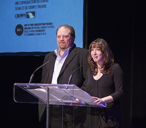 Paul Flicker (producteur artistique) et Lisa Rubin (directrice artistique) du Centre Segal