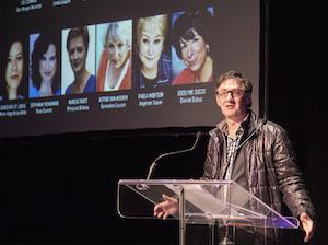René-Richard Cyr qui annonce la distribution de Belles Soeurs: The Musical