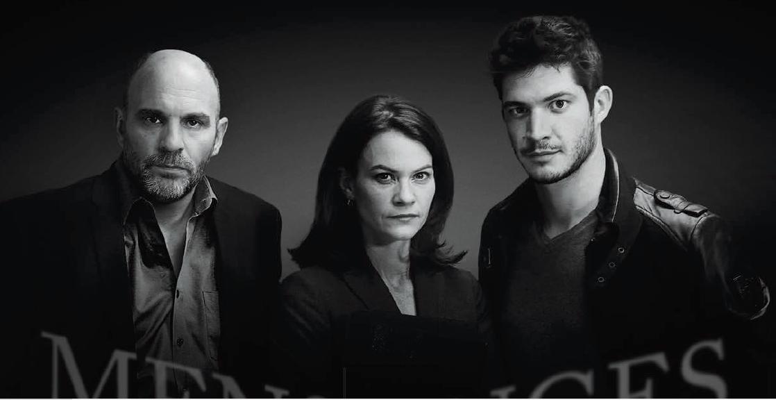 Sylvain Marcel, Fanny Mallette, Éric Bruneau