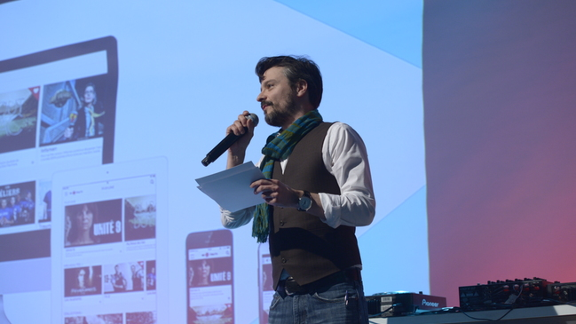 Jérôme Hellio présente la nouvelle plateforme