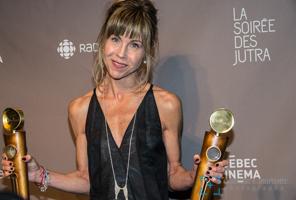 Louise Archambault gagnante du meilleur scénario et meilleure réalisation