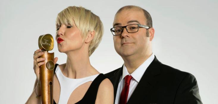 Pénélope McQuade et Laurent Paquin