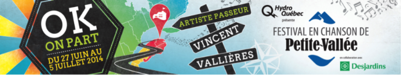 Le Festival en chanson de Petite-Vallée