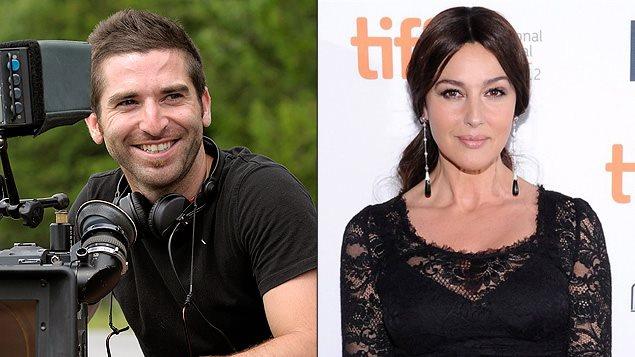 Guy Édoin et Monica Bellucci