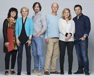 Stéphane Breton, France Pilotte, Michel Laperrière,  Diane Lavallée, Jeff Boudreault, et Véronique Claveau