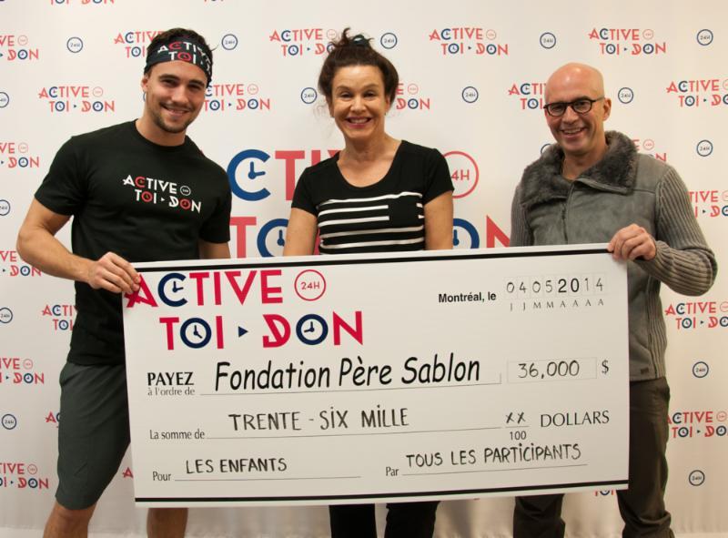 36 000$ pour la Fondation Père Sablon.