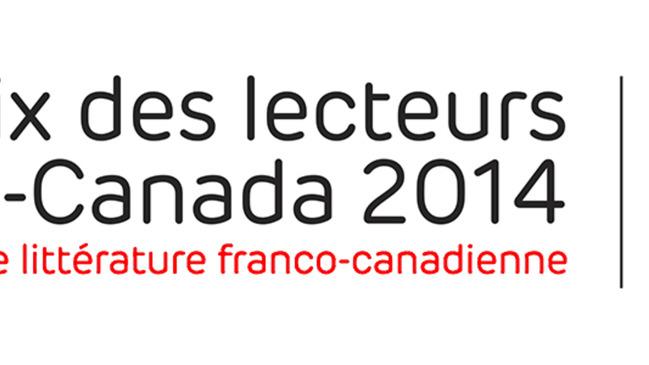 Prix des lecteurs de Radio-Canada 2014