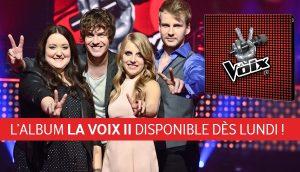 L'album compilation de La Voix 11 avec Renée Wilkin, Rémi Chassé, Valérie Lahaie, Yoan Garneau