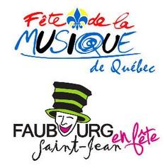 Fête de la musique de Québec et Faubourg Saint-Jean en fête