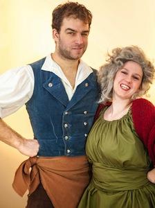 Philippe Gobeille (Thénardier) et Vikki Walker (Madame Thénardier)