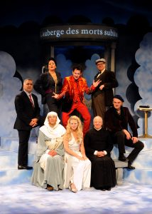 Pierre Gendron, Anie Pascale, André Lacoste, Stéphan Côté, Chantal Baril, Robert Brouillette, Gary Boudreault et Jean Maheux