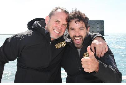 Guillaume Lemay-Thivierge et Dave Morissette