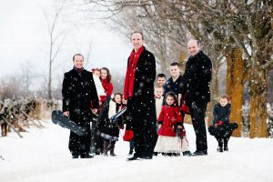 Donnell Leahy and Family