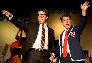 Matthew Mckeown (Frank père) et Brandon Schwartz (Frank fils)