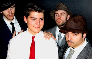 Brandon Schwartz (Frank Jr), Mike Mileno (Carl) et le FBI