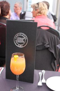 Le cocktail de bienvenue