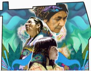 nouvelle murale en hommage aux femmes innues