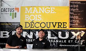 Benelux, la microbrasserie du resto-bar Le Cactus à Québec