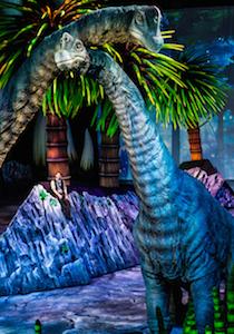 Les Brachiosaures avec le narrateur