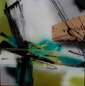 """oeuvre """"Mémoire du paysage I"""" de Viviane Gruais"""