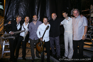 Le band : Mario Fraser ,Christian Morissette , Sébastien Grenier , Frédérick Doiron, Mathieu Groulx , Mathieu Gagné , Martin Levac