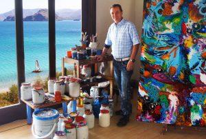 Charles Carson, Atelier, Amérique du Sud