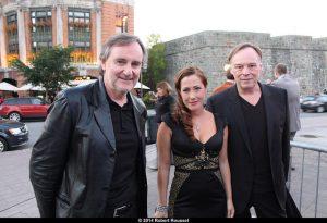 Yves Jacques, Myriam Charleins et Christophe Gans