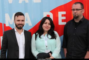 Jury pour le meilleur film Sébastien Pilote, Manon Dumais et Danny Lennon