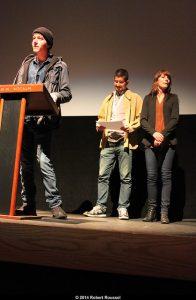 Jury pour le court-métrage Fred Jourdain, Édouard Tremblay et Mélissa Bouchard