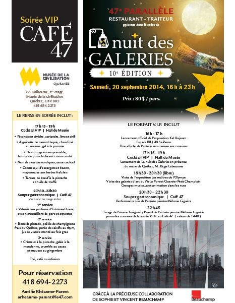 Soirée VIP - Café 47