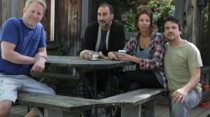 François Massicotte, Martin Petit, Renée-Claude Brazeau, Claude Legault